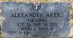 SGT Alexander Akers