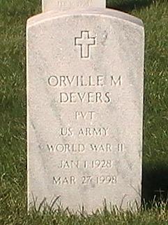 Pvt Orville M. Devers