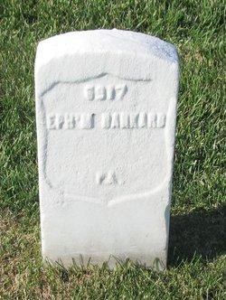 Ephraim F. Bankard