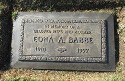 Edna Agnes <I>Johnston</I> Babbe