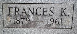 Frances Katherine Kilian