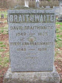 Pvt David Braithwaite