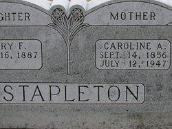 Caroline Antoniette <I>Andrews</I> Stapleton
