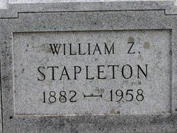 William Zeothen (Zeno) Stapleton, Sr