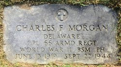Corp Charles Franklin Morgan