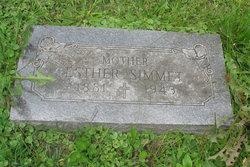 Esther Lydia <I>Bushong</I> Simmet