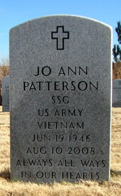 SSGT Jo Ann <I>Fremont</I> Patterson