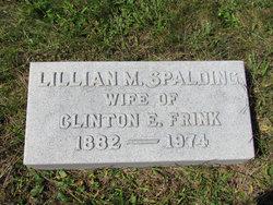 Lillian M <I>Spalding</I> Frink