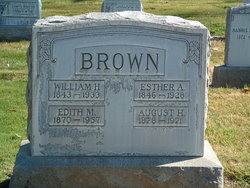 Esther Alice <I>Montgomery</I> Brown