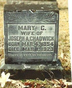 Mary Catherine <I>Hunter</I> Chadwick