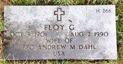 Floy G Dahl
