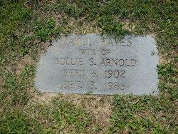 Mabel <I>Hayes</I> Arnold