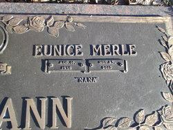 Eunice Merle <I>Dodson</I> Neumann