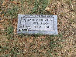 Carl Hohmann, Sr