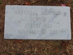Margaret Fair <I>Mitchum</I> Dennis