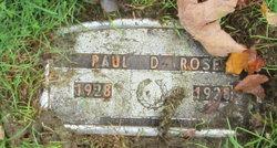 Paul Devillo Rose