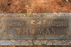 Mary Elizabeth <I>Davis</I> Thomas
