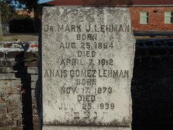 """Dr Mark J. """"M. J."""" Lehman"""