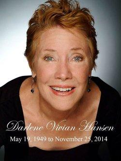 Darlene Vivian Hansen