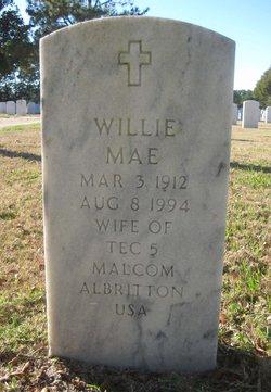 Willie Mae Albritton