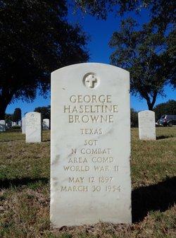 George Haseltine Browne