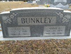 Annie Lou <I>Porter</I> Bunkley