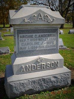 Caroline Jannie <I>Heacock</I> Anderson