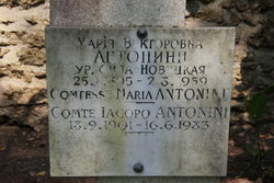 Maria Victorovna <I>Sila-Novitskaya</I> Antonini