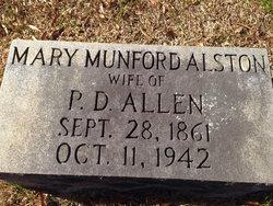Mary Munford <I>Alston</I> Allen