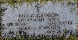 Paul G Johnson