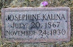 """Josephine """"Josie"""" <I>Svanda</I> Kalina"""