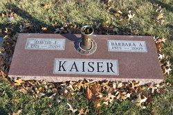 Barbara Ann <I>Curry</I> Kaiser