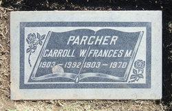 Carroll Wilmot Parcher