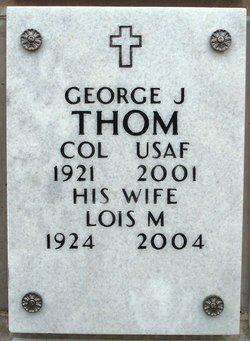 COL George Jacob Thom
