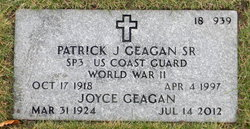 Patrick J Geagan, Sr