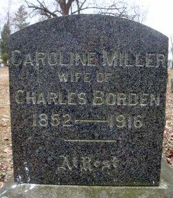 Caroline <I>Miller</I> Borden