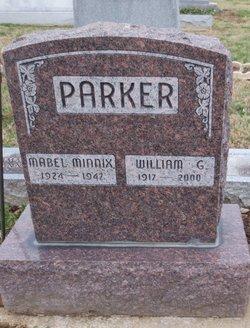 Mabel Fern <I>Minnix</I> Parker