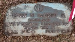 Pvt Harry Nicholas Imhoff, Jr