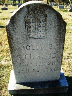 Solon B Richmond