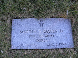 Martin T Oates, Jr
