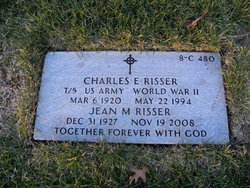 Charles E Risser