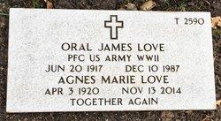 Oral James Love