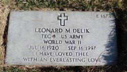 Leonard M Delik