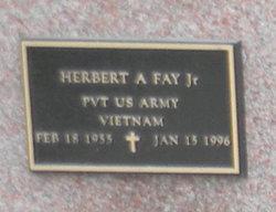 Herbert A Fay, Jr
