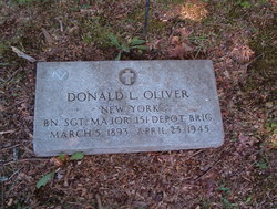 Donald L Oliver