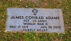 """SGT James Conrad """"Connie"""" Adams"""