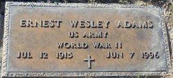 Ernest Wesley Adams