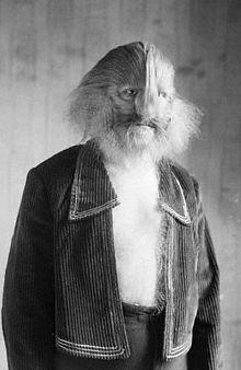 Stefan Lionel The Lion-Face Man Bibrowsky