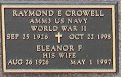 Eleanor F Crowell