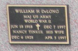 William H Delong